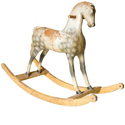 Wooden Rocking Horse -Giannetti Home