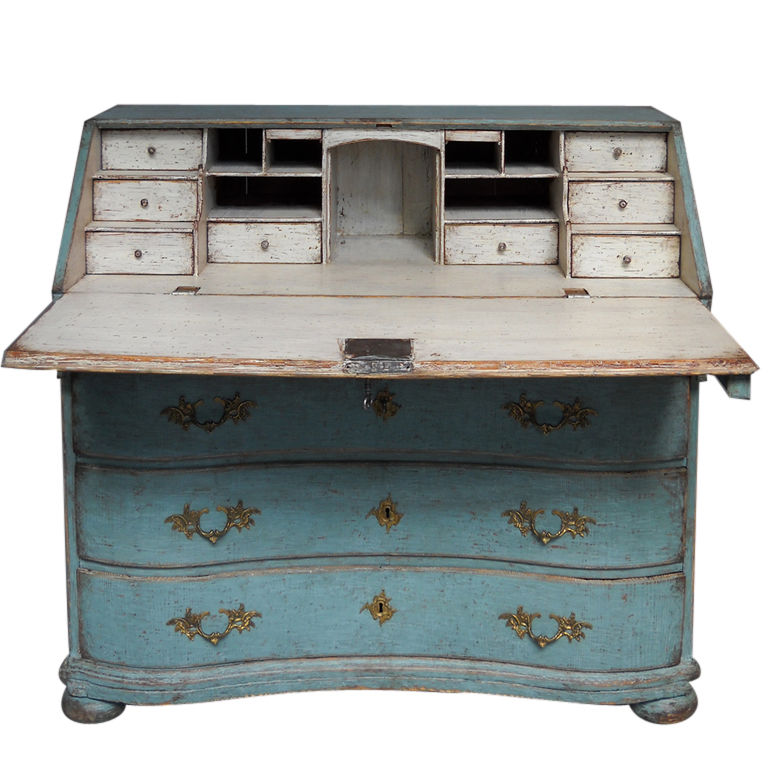 Swedish Rococo Writing Desks