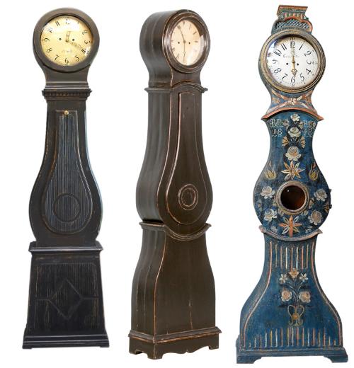 Swedish Mora Floor Clocks