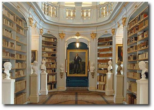 Anna Amalia Bibliothek Rokokosaal quer 500x357 The Most Beautiful Rococo Library In The World:The Anna Amalia Library
