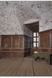 Interior from Gripsholm Castle. Duke Karl's chamber