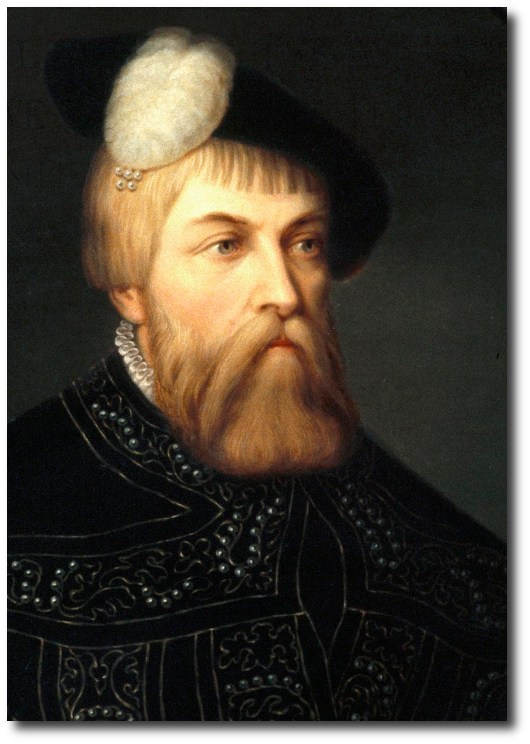 King Gustav Vasa on Home Decorating With Antique Furniture