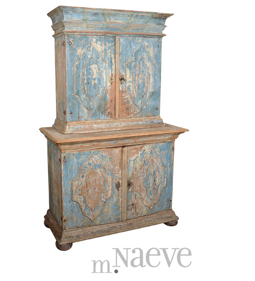 Swedish Baroque Cabinet The Romantic Baroque Style: Part 5 Add Color