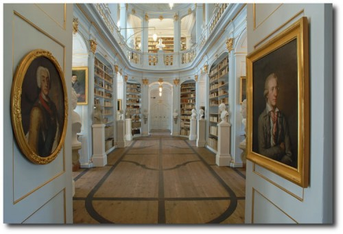 bericht anna big 500x341 The Most Beautiful Rococo Library In The World:The Anna Amalia Library