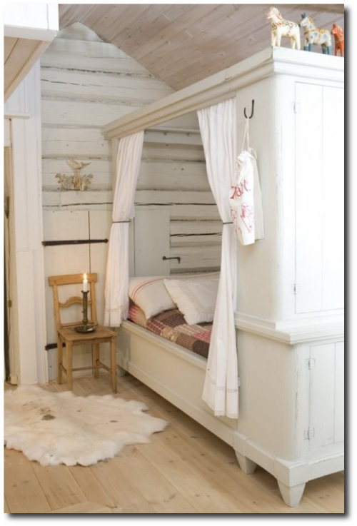 How to decorate a child s room in the swedish style for Scandinavian childrens bedroom