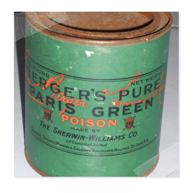 The Shocking History Behind Emerald Green Paint