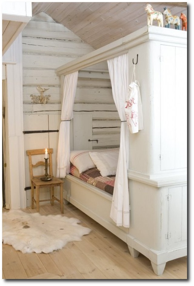 Swedish Cupboard Bed