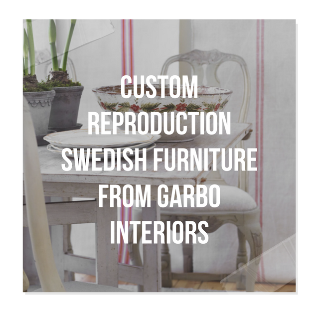 custom reproduction swedish furniture from garbo interiors