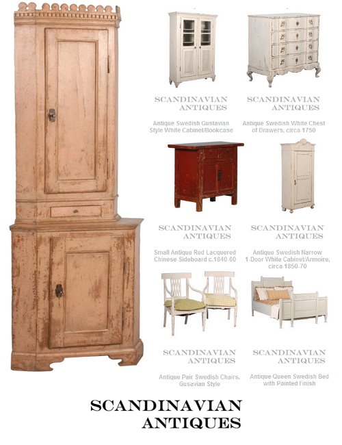 Danish, Swedish, Gustavian Antiques
