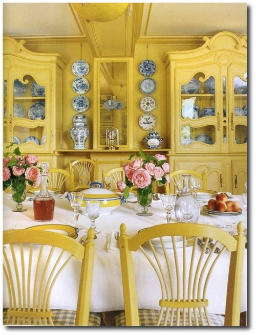 Monet's Yellow Dining Room