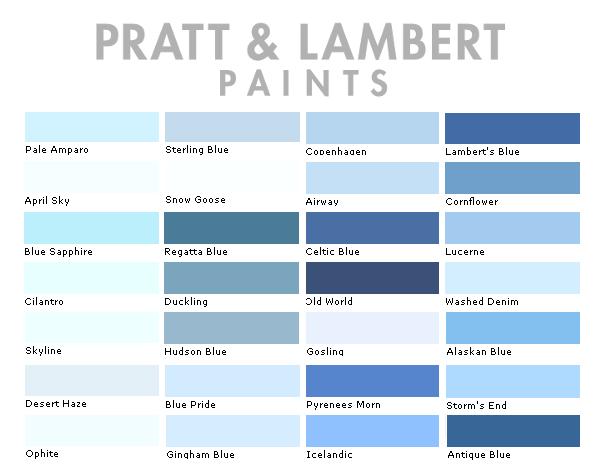 Pratt Lambert Color Collection
