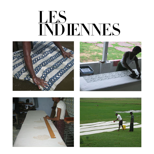 The Kalamkari Process- Les Indiennes Fabrics