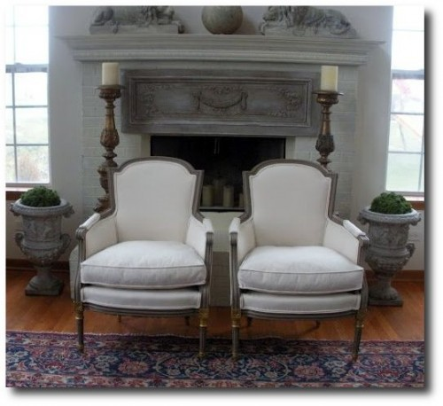 Louis Chairs Before and After- Divine Theatre Blog