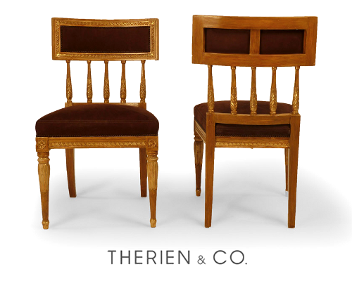 Swedish Antiques- Gustavian Chairs