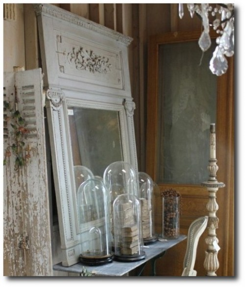 Decorating with French Architectural Salvage