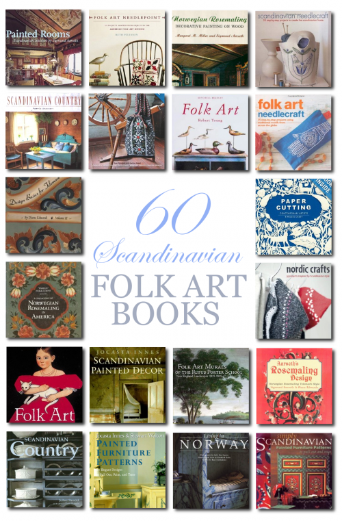 60 Scandinavian Books From Amazon