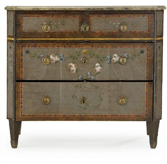 Chest of drawers by Nils Johan Asplind (c1780), sold for about $46,000