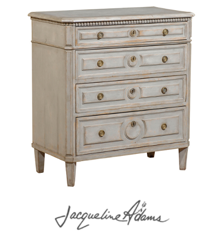 Gray Painted Swedish Furniture
