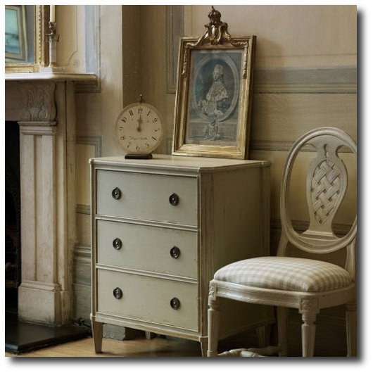 Exceptional Gustavian Furniture  Chelsea Textiles
