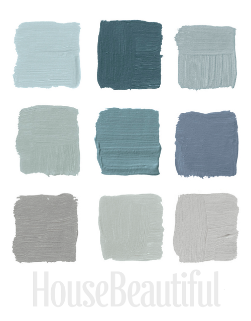Designers pick their favorite gray paints Light blue gray paint colors