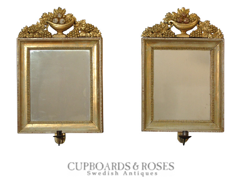 Pair of Karl Johan Mirrors