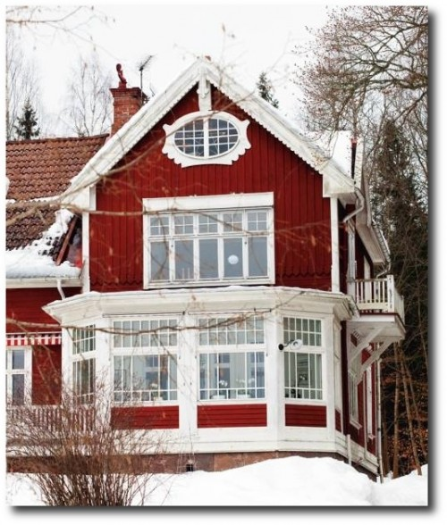 Swedish Jugend House- Originally Seen on Sköna Hem
