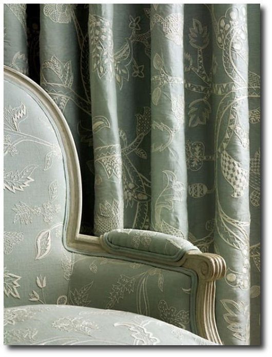Embroidered Fabric Needlepoint Pillows And Gustavian