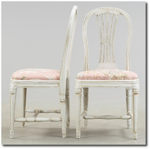 Chairs, Gustavian- Swedish Furniture From Bukowski Market - Gustavian, Gustavian Furniture, Rococo Swedish, Swedish Antiques, Swedish Auction Markets, Swedish Online Furniture Auctions
