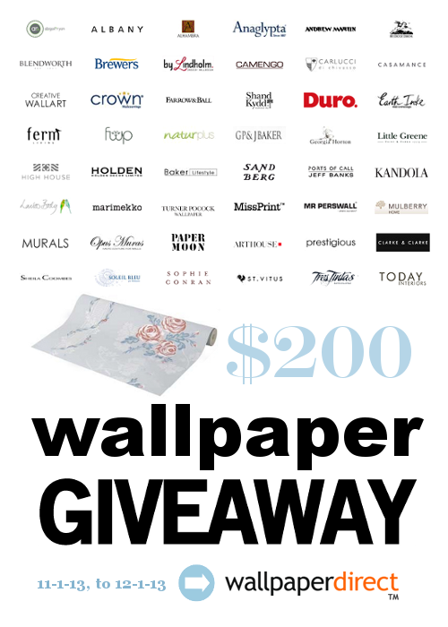 Wallpaper Giveaway From Wallpaper Direct