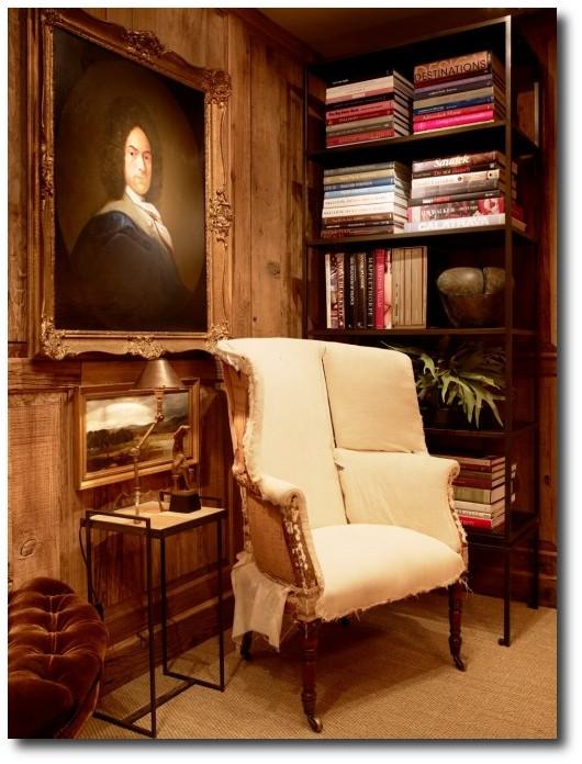 San Francisco Decorator Showcase 2013 Master Sitting: Bleached Pine Furniture