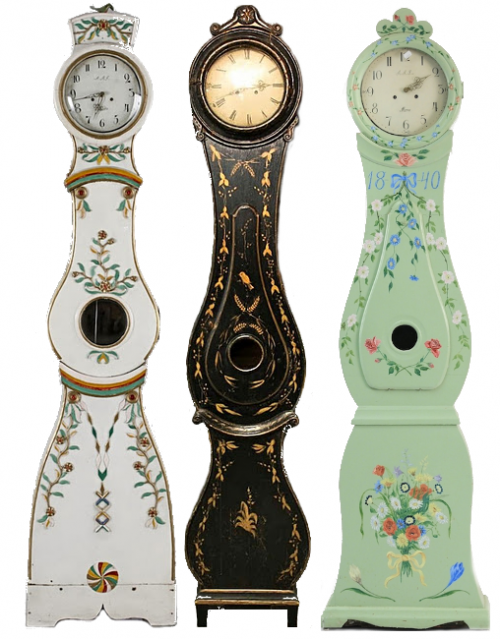 Swedish-Mora-Clocks, Swedish Mora Clocks, Swedish Wall Clocks, Swedish Tall Case Clocks, Swedish Floor Clocks, Swedish Furniture, Swedish Antiques