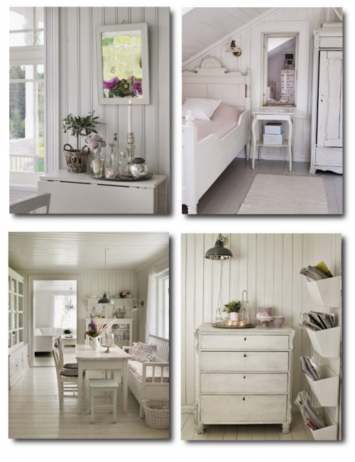 Swedish White Decorating