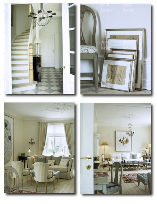 White Swedish Decorating