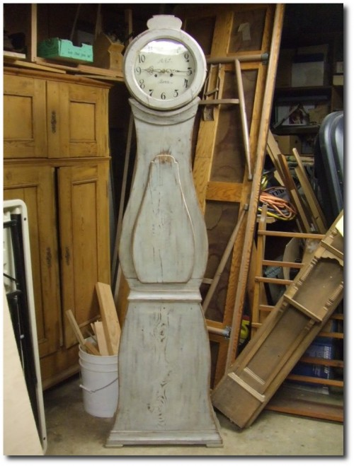 Antique 1840-1870 Swedish Mora Clock