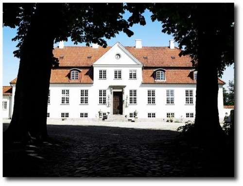 Gelskov Gods, a manor house on the island of Funen in Denmark 2