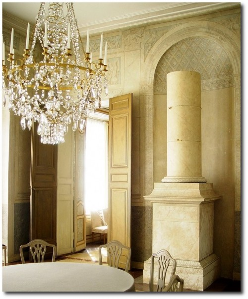 Sunlight in the dining room at Haga, Haga Pavilion, Late 18th century, Gustaviansk or Swedish Neoclassicism Photograph by Magnus photo