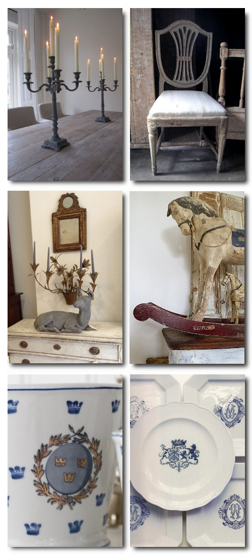 Swedish Nordic Gustavian Pictures