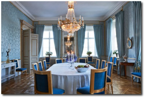 Crown Princess Victoria of Sweden's Dining Room