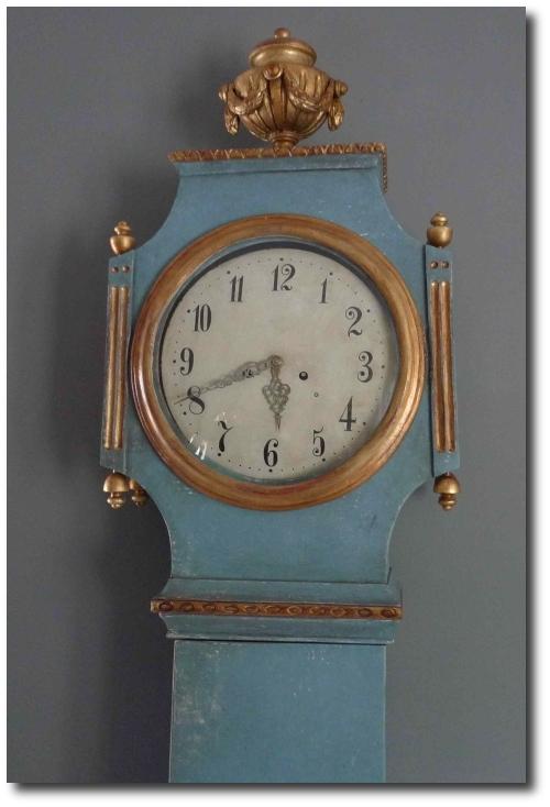 Gustavian Floor Clock