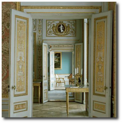 Entrance to Salon at Tullgarn Palace, Sweden