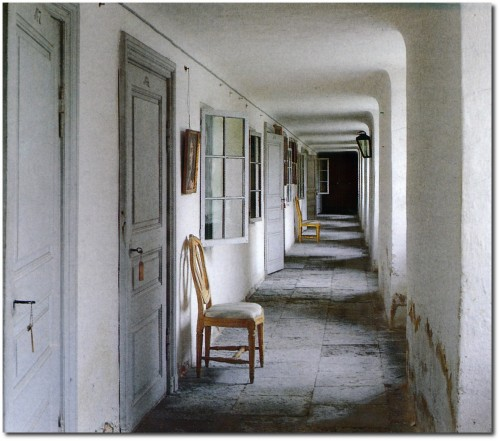 Gripsholm Castle- Ground Floor Corridor Coutiers Wing Built 1780-82