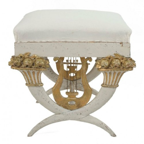Beautiful Gustavian Stool. Visit 1stdibs