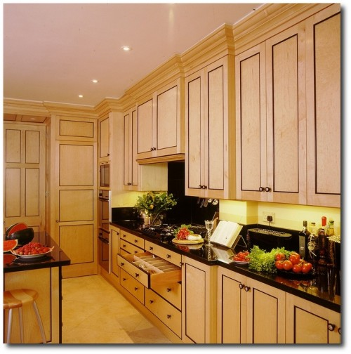 Biedermeier Kitchen - London - Tim Wood Furniture Limited