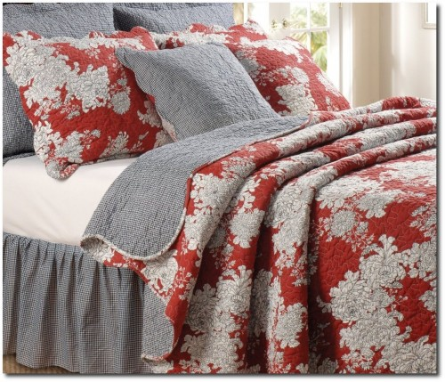 Greenland Home Lorraine Quilt Set, King