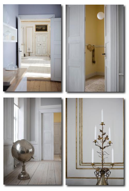 Modern Furniture In A Castle In Denmark  2