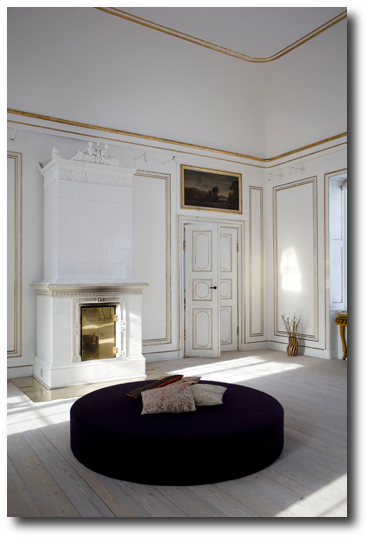Modern Furniture In A Castle In Denmark -DH Design & Co