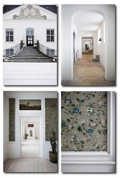 Modern Furniture In A Castle In Denmark