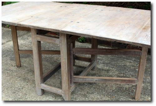 Swedish Gateleg Table - The Drill Hall Emporium
