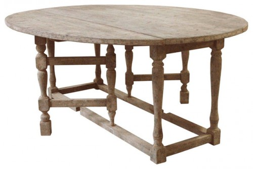 Swedish Gustavian Gray Oval Gate Leg Drop Leaf Dining Table Seen On Houzz