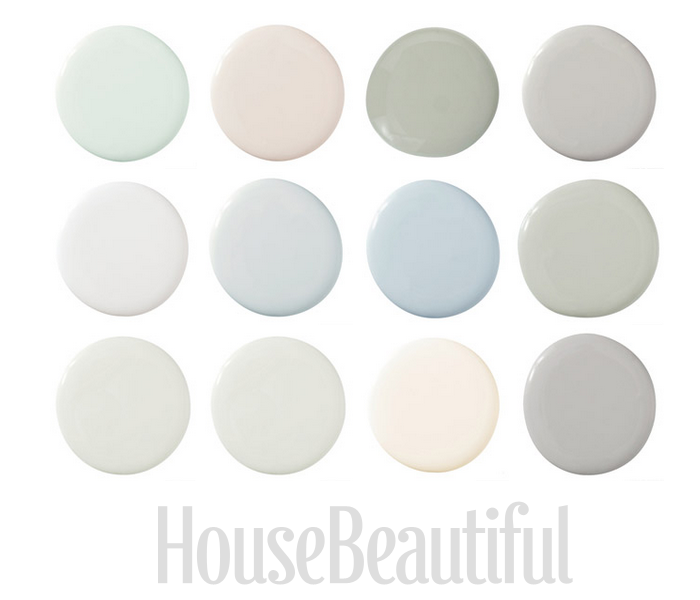 Swedish Paint Colors Seen At House Beautiful